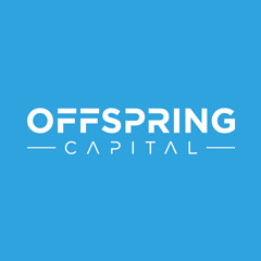 Offspring Capital Logo Squared Blue